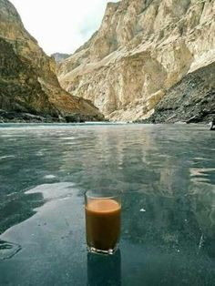 Frozen Attabad Lake,  Gilgit Baltistan.