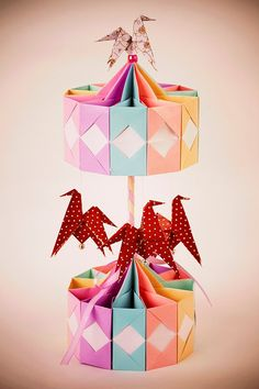 Magic Carousel Origami - Custom Order