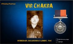Sub Limbu despite heavy odds successfully fought his way through enemy & brought his men back.For his Courge & Valour awarded #http://VirChakrapic.twitter.com/rs7xOiGc9I #IndianArmy #Army