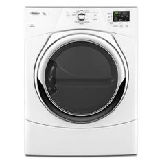 Whirlpool Duet High Efficiency Electric Dryer w/ Quick Refresh Steam WED9371YW