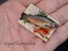 PDF TUTORIAL for Brook trout 112 scale van SugarCharmShop op Etsy