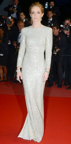 Emily Blunt's Red Carpet Style - In Stella McCartney, 2015 from InStyle.com