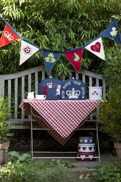 Queens Diamond Jubilee Tea Cosies from Jan Constantine