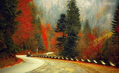 Bicaz Chei, Romania A fall day Romania Facts, Places Around The World, Around The Worlds, Romanian People, Take Me Home, Autumn Day, Fall Photos, Places To See, Landscape