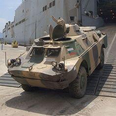 BRDM-2  Combat Reconnaissance/Patrol Vehicle Bulgarian Army