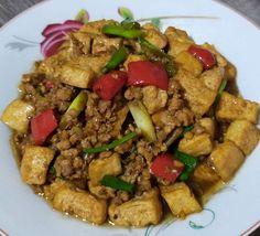 stir fry tofu recipe instagram Stir Fry Recipes, Tofu Recipes, Tofu Dishes, Kung Pao Chicken, Fries, Beef, Ethnic Recipes, Instagram, Food