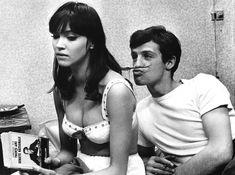 Anna Karina and Jean-Paul Belmondo (Une Femme Est Une Femme), 1960 by Raymond Cauchetier