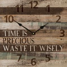 """Beautifully designed for any themed decor, this simple wall clock is highlighted soothing natural colors colors - measures 13.5"""" x 13.5"""" - keyhole mount for easy hanging - requires AA battery; not inc"""