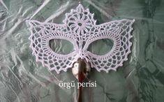 Black Masquerade Mask, Masquerade Party, Fifty Shades Darker Movie, String Art Tutorials, Crochet Mask, Crochet Carpet, Lace Mask, Ribbon Design, Irish Lace