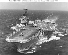 USS Ranger  October 1957