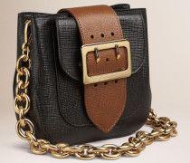 The Small Belt Bag Aus Leder-quadratisch