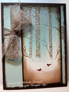 Red Birds Christmas - MZ by Zindorf - Cards and Paper Crafts at Splitcoaststampers