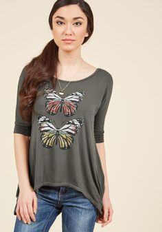 This Flits the Bill Top in XS, #ModCloth