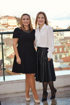 With Ana teixeira, one of the Breakfast@Tiffany`s followers |  6th Anniversary of Breakfast@Tiffany's | Hotel do Chiado | 09th of March | Photo Credits Catarina Fernandes Photography.