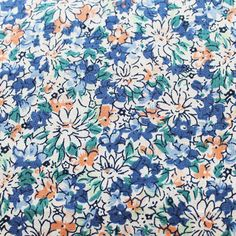 Ditsy floral cotton. Love the colours