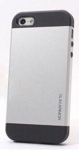 iPhone 5C Slim Armor Hülle Schutzhülle Case Cover Grau