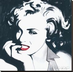 Marilyn Monroe III Canvastaulu tekijänä Irene Celic AllPosters.fi-sivustossa