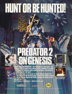 Predator 2 ad Genesis