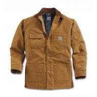 The ever-popular Carhartt Chore Coat.  Available in black or Carhartt brown.  Free UK postage