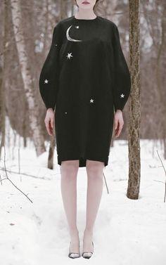 Oversized Dress With Embroidery by Vika Gazinskaya