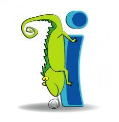 Alphabet latin — Wikimini, l'encyclopédie pour enfants Alphabet Latin, Images Alphabet, Disney Alphabet, Letter I, Illustration, Kids, Bb, Animals, Cartoon