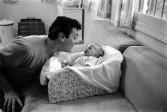 Tony Curtis and Jamie lee 1959
