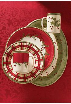Lenox Holiday Gatherings....I already have a set of Mikasa holiday dishes, but I love these!