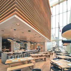 The Momofuku Restaurant, A Stunning Example Of Contemporary Architecture At Its Highest