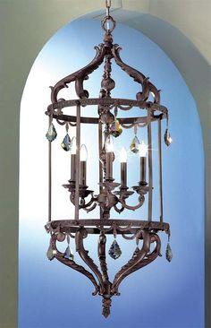 Lucia Italian hanging pendant lantern | Large Lighting ᘡղbᘠ