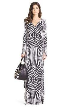 Mazel Silk Jersey Maxi Dress