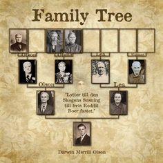 Family Tree...great heritage page