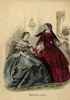1858 - Modes de Paris