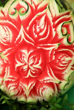 Taste of London 2012 - Carved Watermelon, via Flickr.