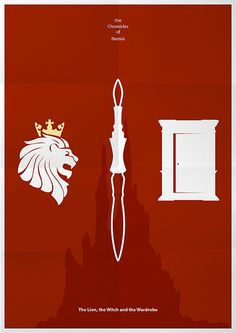 The Chronicles of Narnia: The Lion, the Witch and the Wardrobe (2005) ~ Minimal Movie Poster by Mads Svanegaard