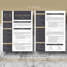 """Legal Resume Template for MS Word: """"Madison"""" 