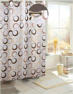 EZ On Circles Shower Curtain