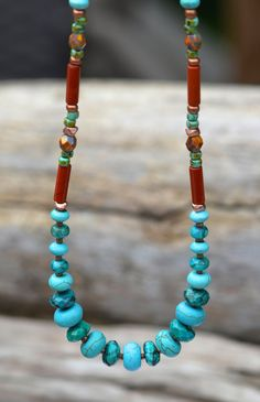 Genuine Faceted Turquoise Golden Picasso Czech от Cheshujewelry