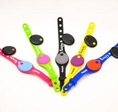 My BuddyTag Silicone Wristband ** Follow me on www.MommasBacon.com **