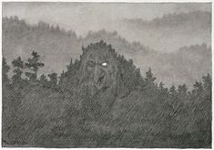 Theodor Kittelsen - The Forest Troll , 1892