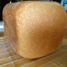 Honey Whole Wheat Bread -  Time to replace that store bought bread as this will put that spongy store-bought bread to shame.  Obviously easy to make in the bread maker.  Will be making again.