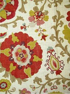 great suzani print fabric