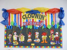 clownin' around circus bulletin board pics - Bing images