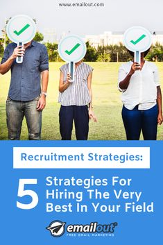 Finding top talent in your business field can be tricky. Our five recruitment strategies will help you find the best of the best to join your team. Free Email Marketing, Dream Team, Dreaming Of You, Career, Join, Good Things, Business, Art, Art Background