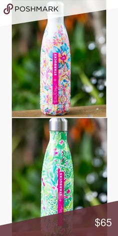 🆕Lilly Pulitzer Floral and Jungle swell bottles Brand new with box Lilly Pulitzer Starbucks Swell Bottle in Resort Escape Floral and Palm Beach Jungle. I received these as a gift for my birthday but I was wanting the mermaid print so I'm selling these💗🌸 If one doesn't sell I will keep it for myself! 😊 Lilly Pulitzer Other