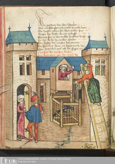 72 [34v] - Ms. germ. qu. 12 - Die sieben weisen Meister - Seite - Mittelalterliche Handschriften - Digitale Sammlungen