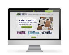 Com & See réalise le site d'auto-édition Bookelis, une boutique en ligne couplée à un process de publication et de fabrication de livre.  http://bookelis.com/   Venez découvrir nos autres réalisations sur www.com-and-see.fr