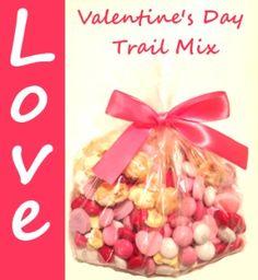 Valentine's Day Kids Treats – Sweet Heart Trail Mix