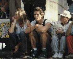 This was in November 1993 and they were watching the NY Marathon together: Jackie Kennedy, Los Kennedy, Carolyn Bessette Kennedy, New York Marathon, Daryl Hannah, John Junior, Jfk Jr, John Fitzgerald, Junior Fashion