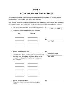printable checkbook balancing form checkbook balancing worksheet outstanding checks or. Black Bedroom Furniture Sets. Home Design Ideas