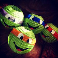Ninja turtle party decoration